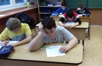 Matematika verseny a Damiban